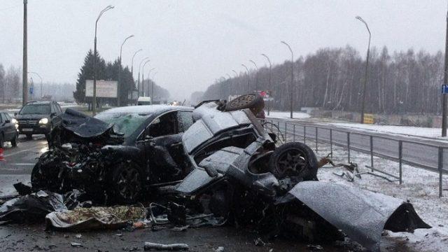 Авария в Могилеве
