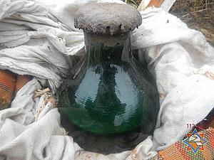 В Речицком районе во дворе одного из домов было обнаружено 5 кг ртути