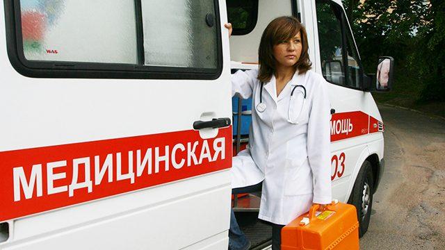 медработник скорой помощи
