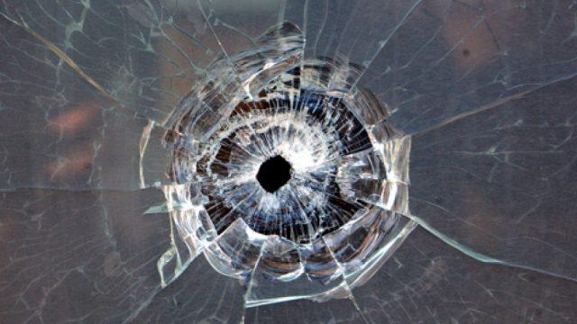 выстрел в окно