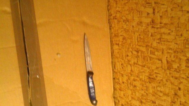 брестчанин ворвался с ножом в офис