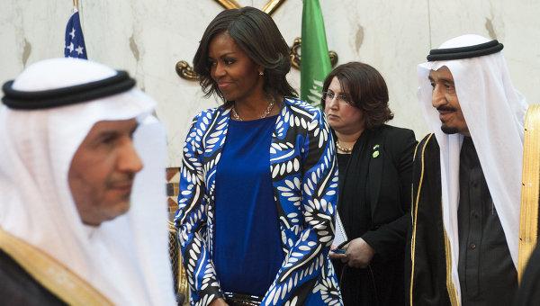 Мишель Обама нарушила исламский этикет