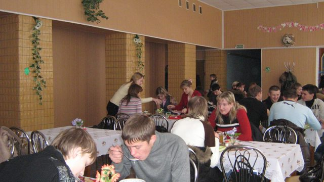 белорусские столовые