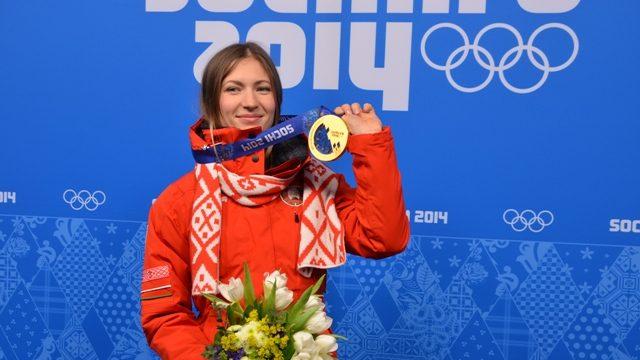 Домрачева названа лучшей спортсменкой Европы 2014 года