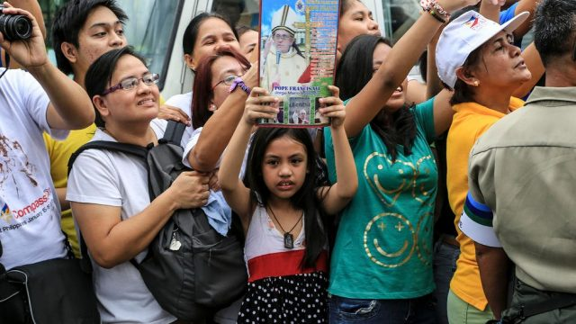 филиппинцы ожидают Папу Римского
