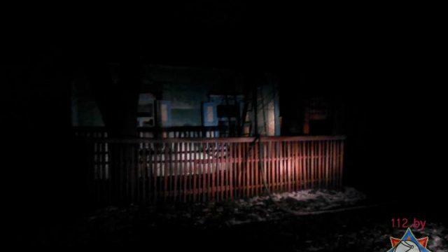 пожар в Зябровке