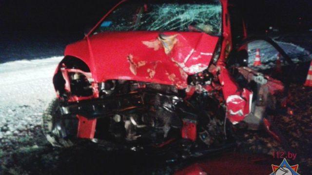 В Ошмянском районе произошло ДТП: водителя направили в реанимацию