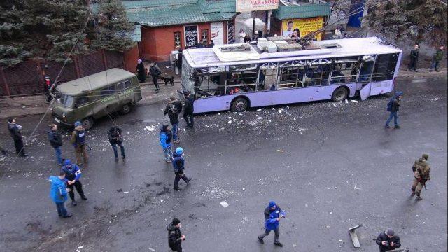 обстрел троллейбуса