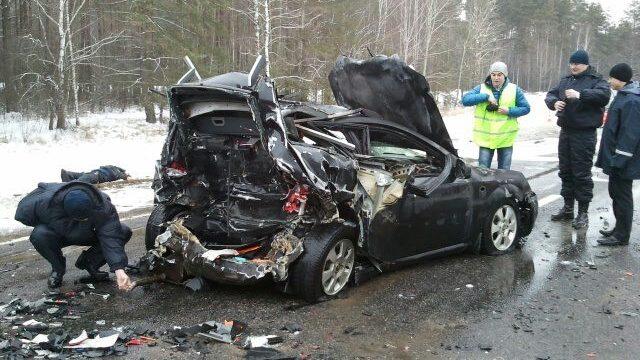 ДТП в Быховском районе - погибли три человека