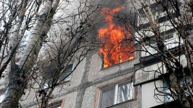 Пожар в Гродно: эвакуированы 9 человек