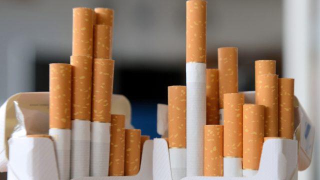 Сигареты на прилавках