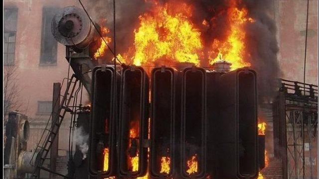 В Минске на заводе вытекло и загорелось 800 литров трансформаторного масла