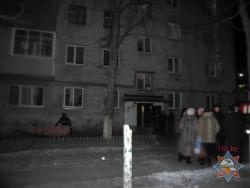 При пожаре жилого дома в Гомеле были эвакуированы 46 человек