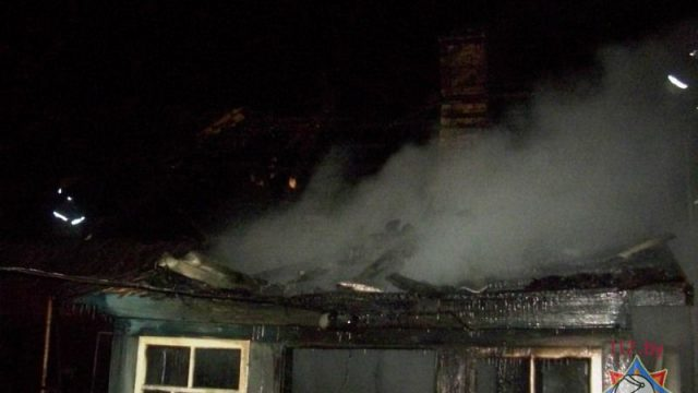 пожар в Кирвели