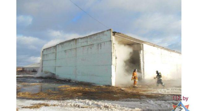 пожар в Чижовке