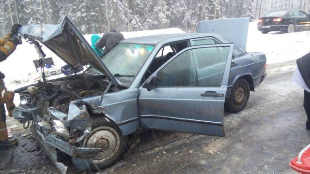 Авария в Слуцком районе : 1 человек погиб, трое получили травмы