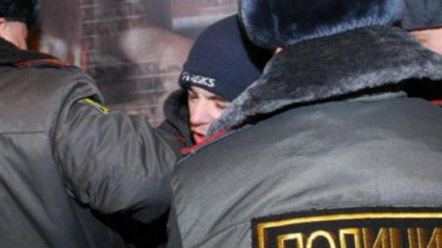 В России белорус избил двух полицейских