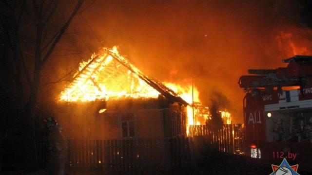Пожар в жилом доме в Гомеле: один человек погиб
