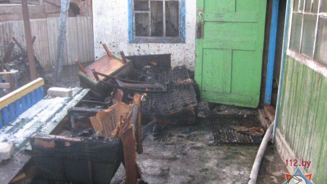 Пожар в Быхове : погибла пожилая женщина