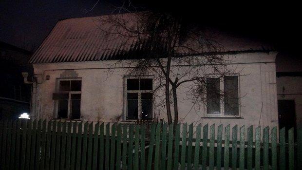 В столице при пожаре погиб человек