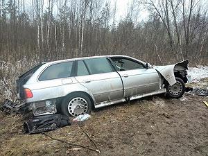 В ДТП в Минской области пострадали двое малышей, которых везли в багажнике