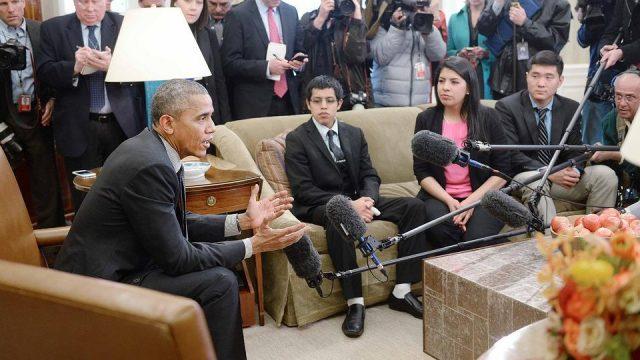 Барак Обама и эмигранты