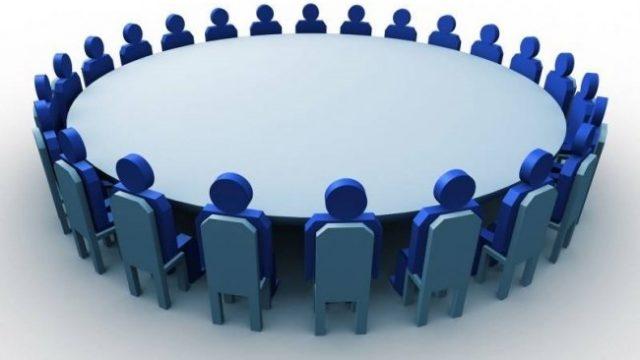 заседание бизнесменов