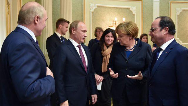 минские перговоры по Донбассу