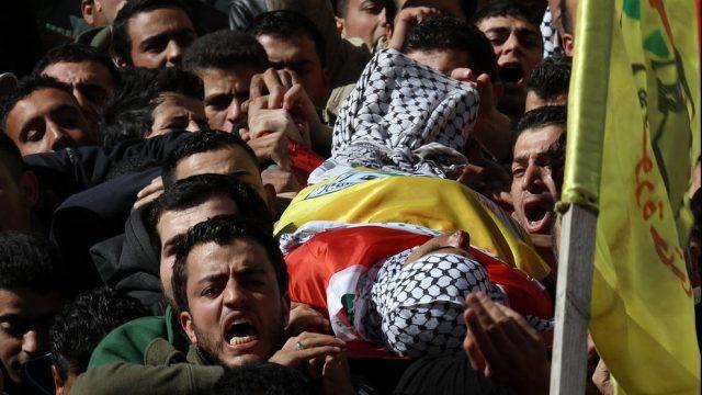 похороны палестинца