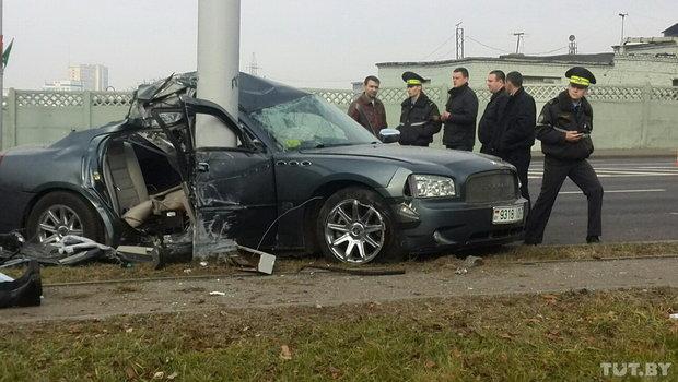 По факту ДТП с Dodge в Минске в котором погибли две девочки, возбудили уголоыное дело