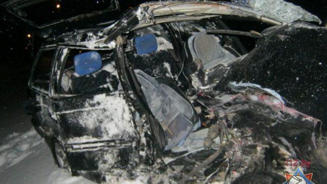 В Полоцке произошло ДТП: один человек погиб
