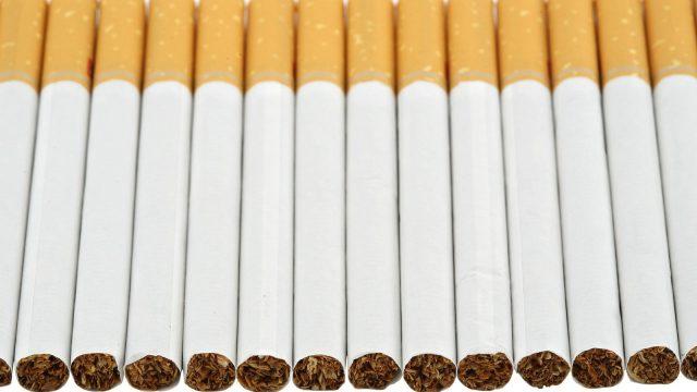 Плот из сигарет