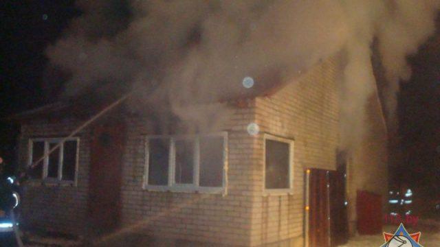 пожар в Новополоцке