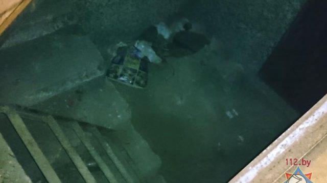 загорание в подвале