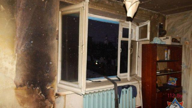 Пожар в Барановичском районе: пожилую женщину и ее сына удалось спасти
