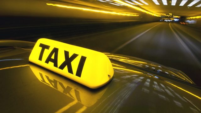Нападение на такси