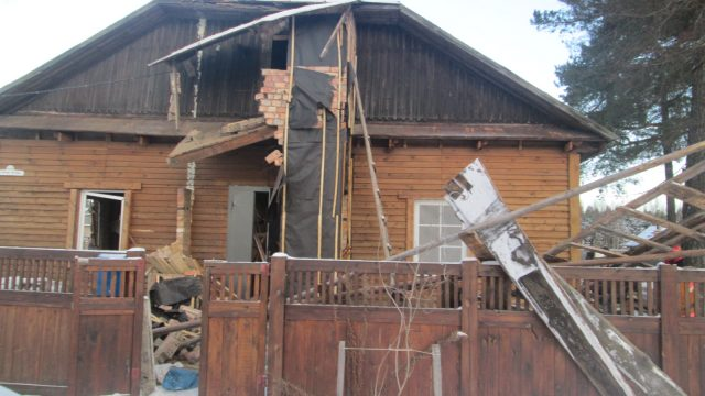 В Червенском районе в жилом доме произошел взрыв