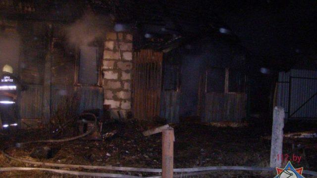 Пожар в Могилевской области: один человек погиб