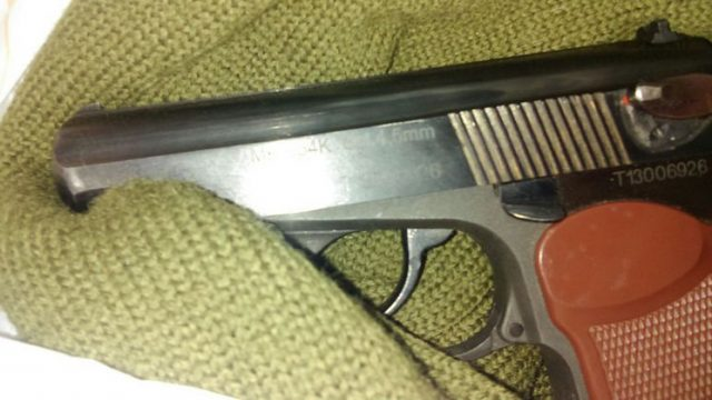 Стрельба в магазине
