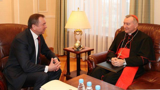 встреча Макея и Госсекретаря Ватикана