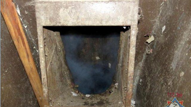 возгорание мусоропровода