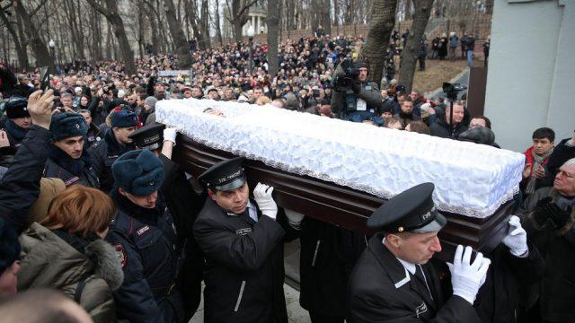 похороны Бориса Немцова