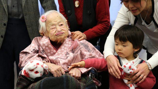 117-й день рождения японки