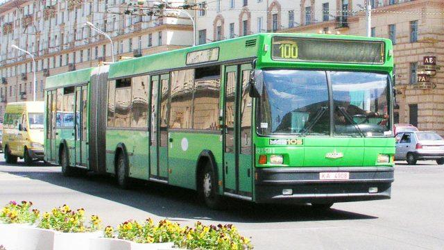общественный транспорт минска