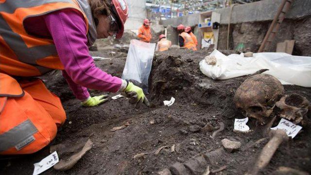 раскопки на месте Бедлама