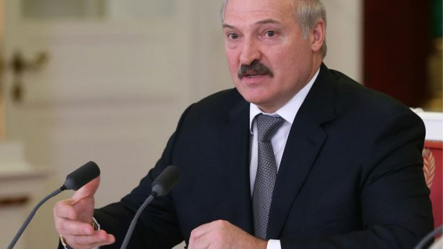 Лукашенко - занятость