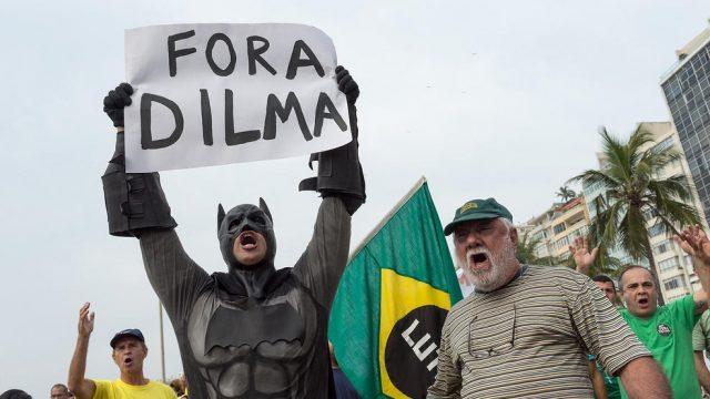 протест в Бразилии