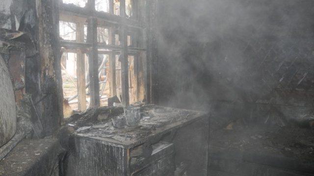 В Гомеле во время пожара в частном доме погиб мужчина.