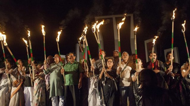 акция памяти в Бангладеш