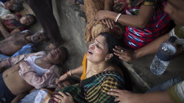 10 поломников-индусов погибли в давке